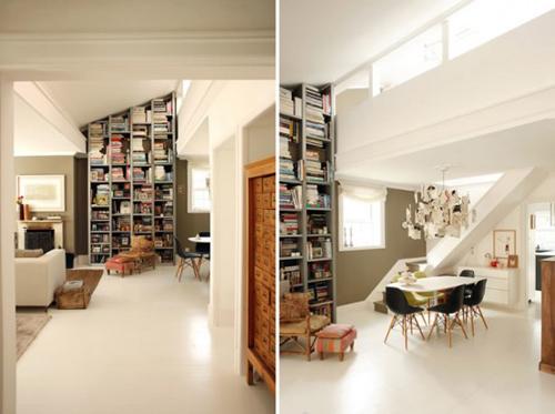 bookcase interior
