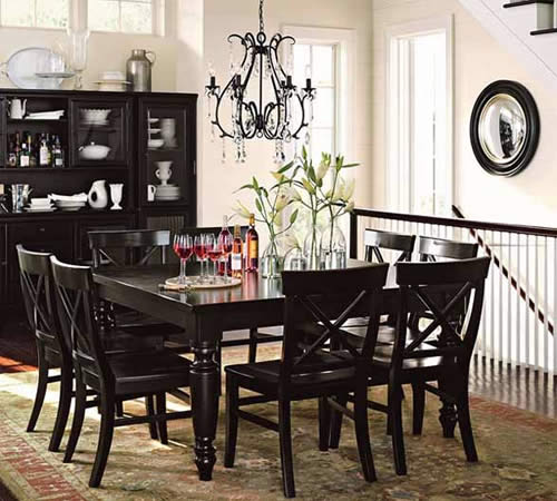 buffet table dining room