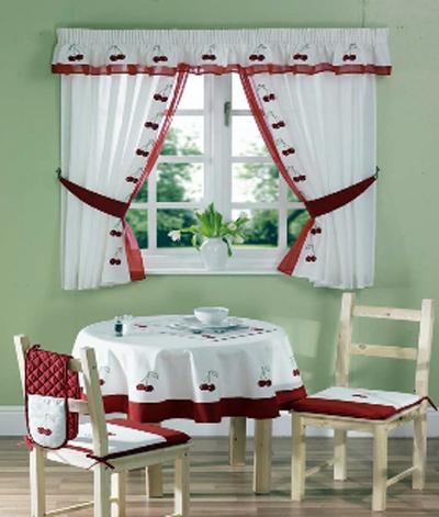 cherry curtain