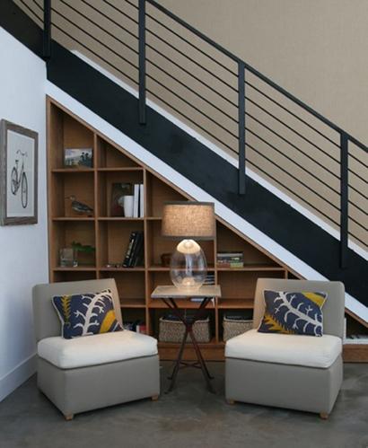 downstair space