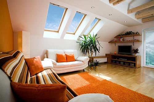 family room attic