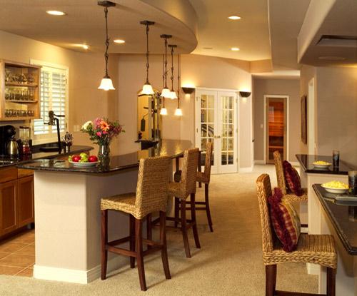 small basement remodeling idea