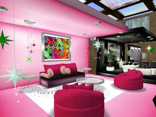 valentine living room design