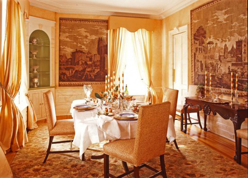 victorian decoration for dining room