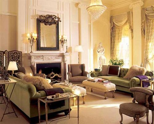 victorian decoration living room