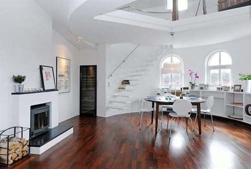wood flooring apartment