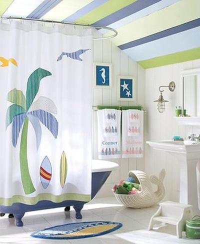 Beach Theme Bathroom Design