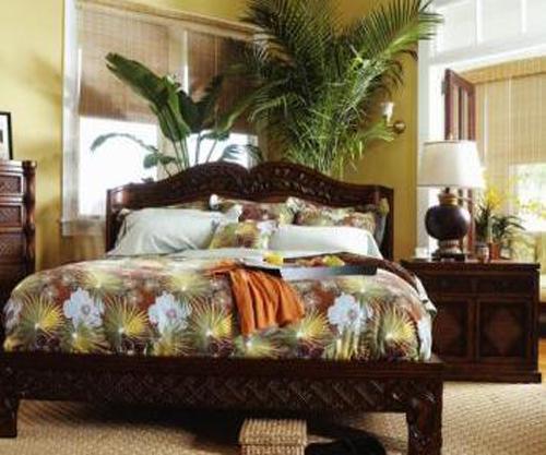 Bedroom Hawaiian Interior Design