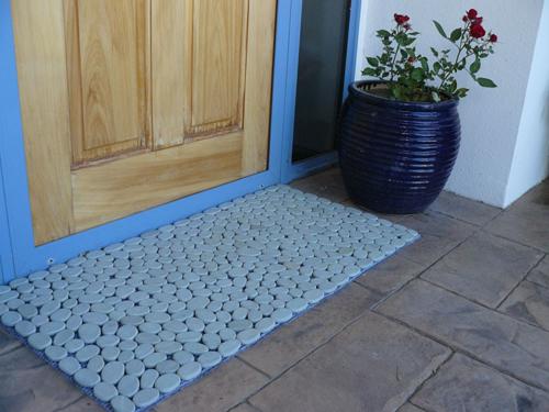 Blue Entrance Mat