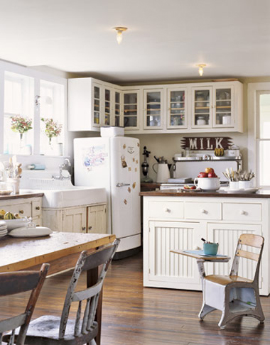 Built in Kitchen Desk in FarmHouse Style