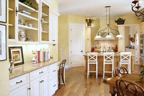 Designing a Built in Kitchen Desk