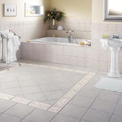 Ceramic Flooring for Bathroom