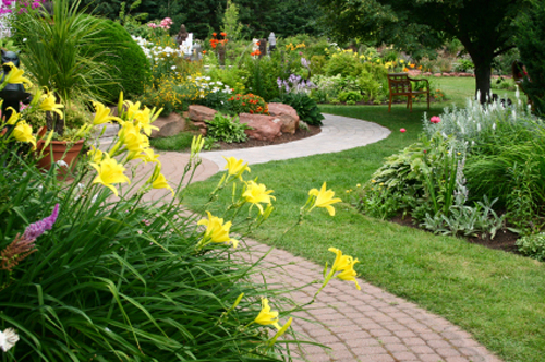 Cost effective landscaping