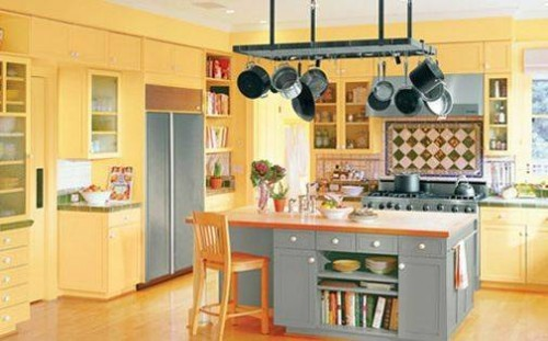 Country Yellow Kitchen Decoration