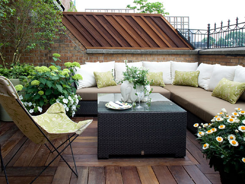 Decorating for a Terrace at home
