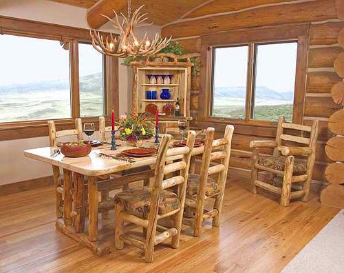 European Rustic Diningroom