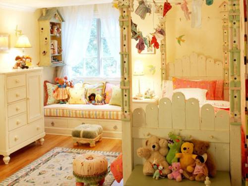 Garden Inspired Bedroom for Girls