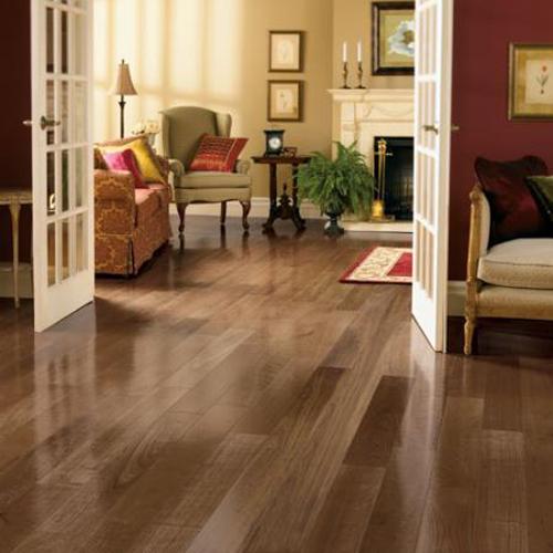 Mahogany and Oak Flooring Design