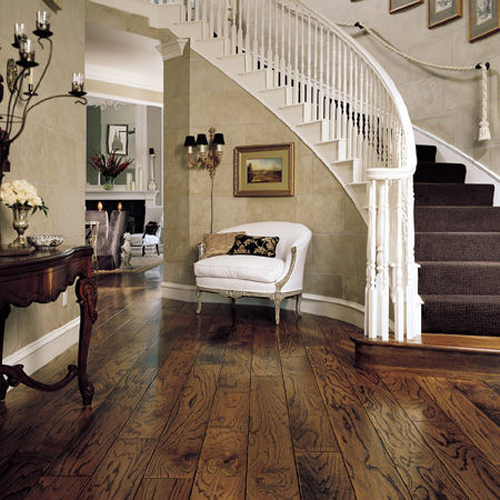Mahogany and Oak Flooring