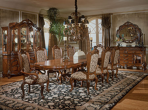 Mediterranean dining room themes