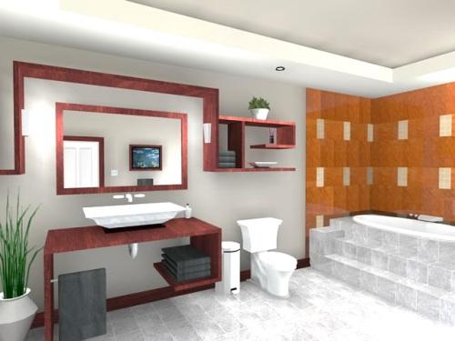 Modern Bathroom Designer's Style