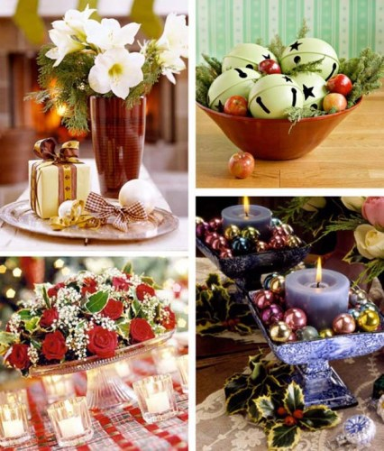 Furniture: Seasonal Dining Table Decoration