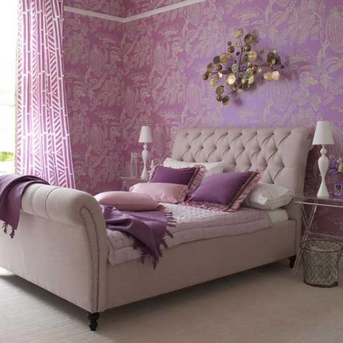 Purple Whimsical Wallpaper