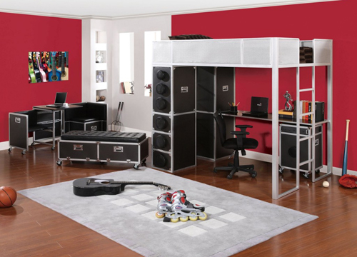 Bedroom Design Ideas: Rock and Roll Theme for Your Bedroom