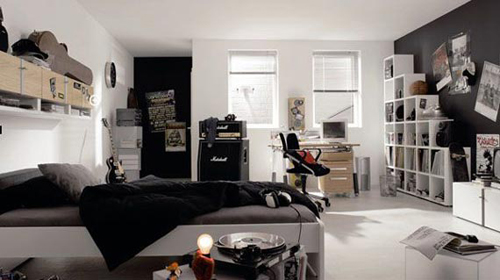 Rock and Roll Theme Interior