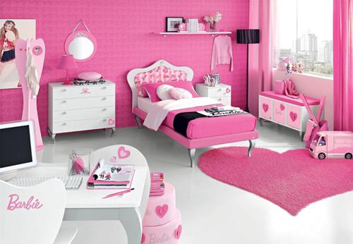 Romantic Teen Bedroom