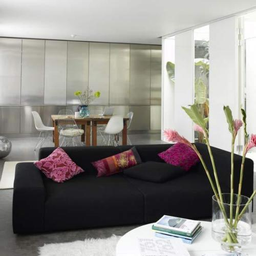 Simple Pink and Black Decoration