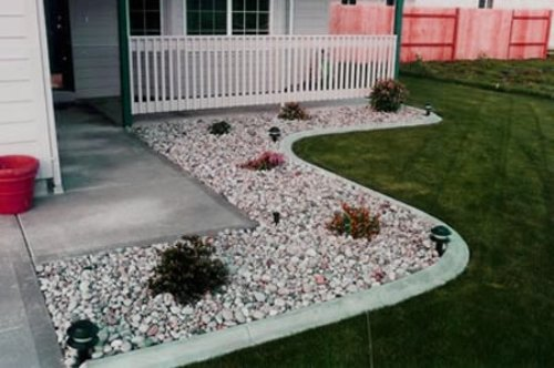 Simple Rock Landscaping