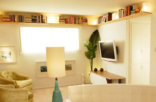 Small Space Shelving Ideas