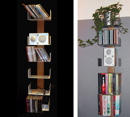 Tall Small Space Shelving at Home