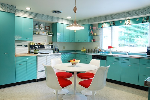 Teal Kitchen Colors