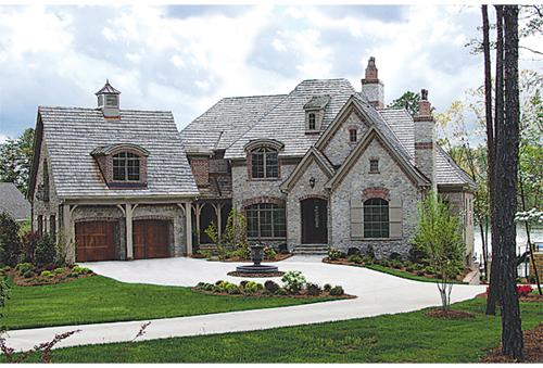 brick home exterior design