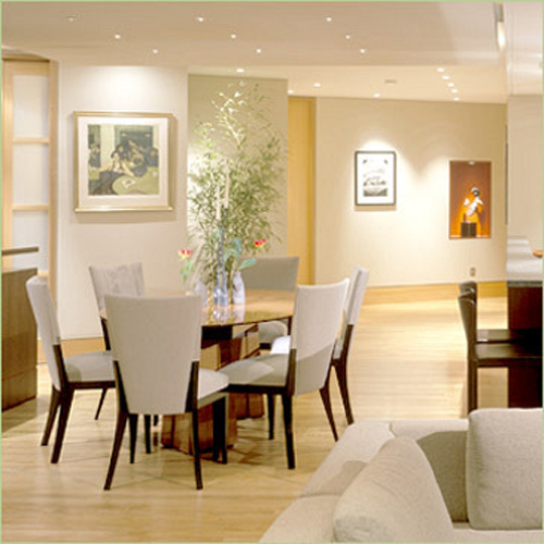 contemporary dining room themes