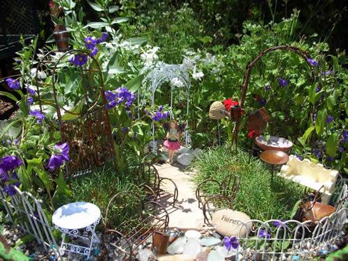 fairy garden model