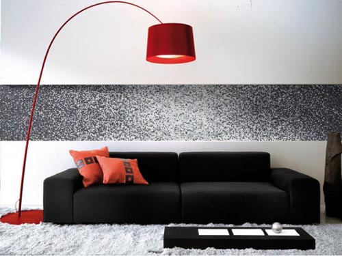 gray wall decoration