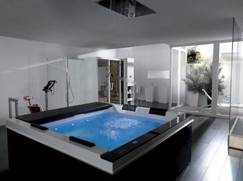 high tech ideas of luxury bathroom