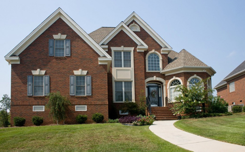 nice brick home ideas
