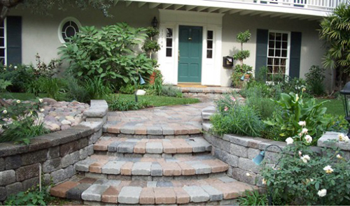 paving stone driveway design