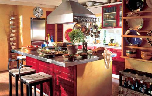 Bistro Interior Design for Kitchen