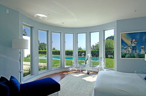 Blue Bedroom for Comfort at Home