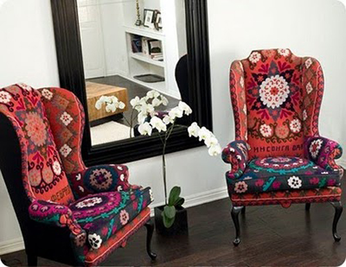 Ethnic-Eclectic Decor