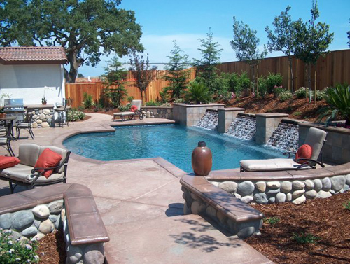 Exotic Swimming Pool Design