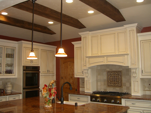 Faux Ceiling in kitchen