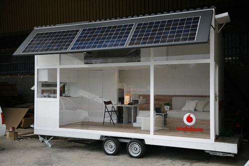 Glass Mobile Home Interior Design