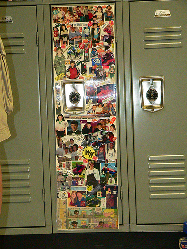 Locker Decoration