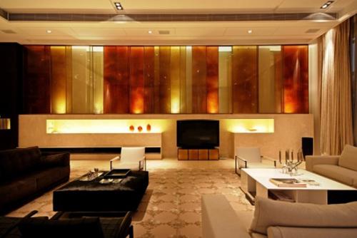 Luxury Tea Room Interior Design